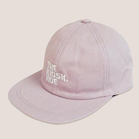 LOGO 6PANNEL CAP -LITE PINK/WHITE-