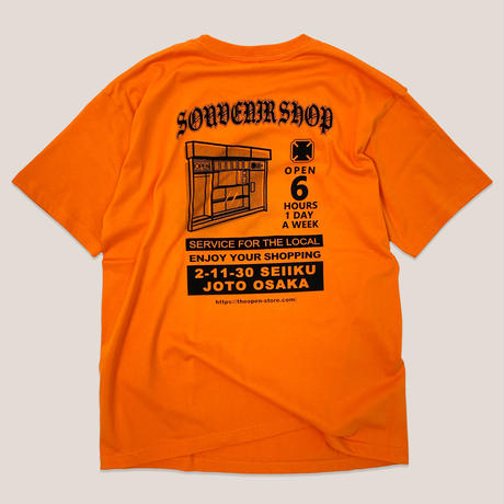 STAFF SS TEE -ORANGE-