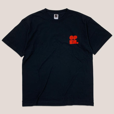 CHIRASHI SS TEE -BLACK-