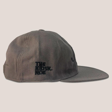 NOE 6PANNEL CAP -BROWN/BLACK-