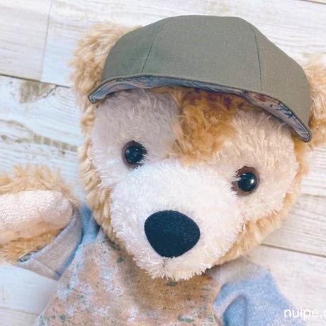 【ダッフィーサイズ】帽子(キャップ)の型紙