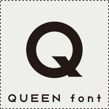 QUEEN font(クィーン フォント)
