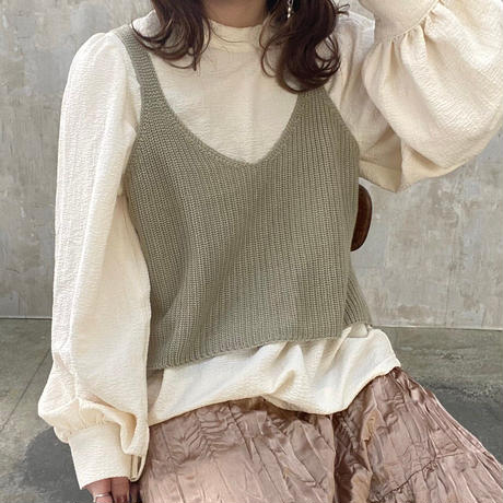 knit bustier