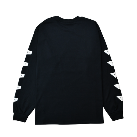 Standard Logo Long Sleeve Tee / Black