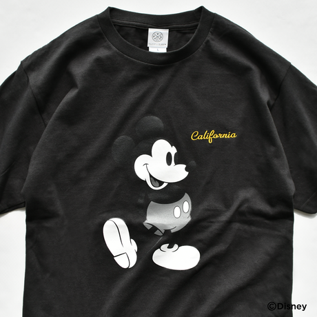 Mickey Mouse Tee  【Black】