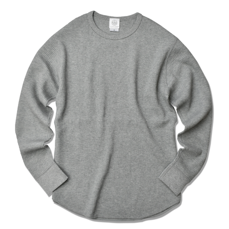 Thermal long sleeve Tee【Gray】