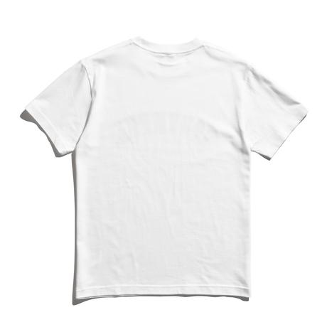Shadow Logo Tee / White