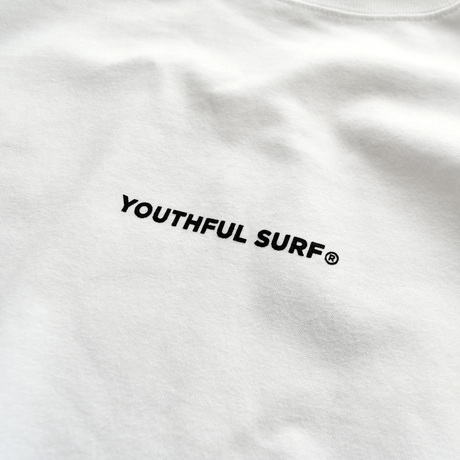 The best wave for surfing Tee  【White】