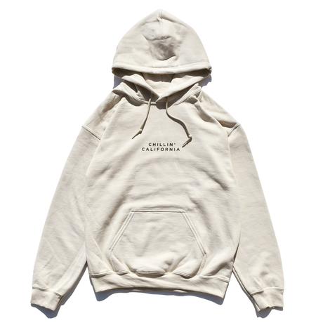 Chillin' california  Hooded Sweatshirt / Sand