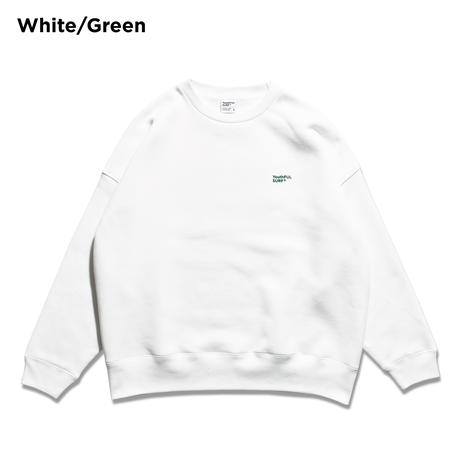Basic Logo Relax Fit Crew Neck Sweatshirt