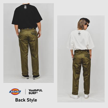 Dickies®×YouthFUL SURF® Collaboration Work Pants / Vintage Khaki