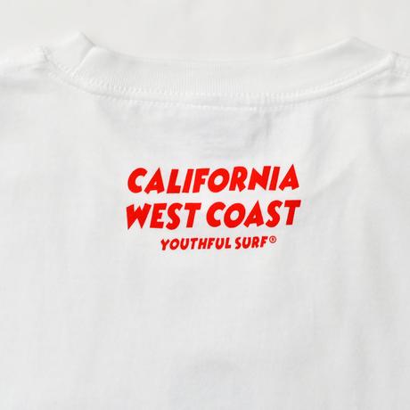 CALIFORNIA TEE - MICKEY MOUSE - / White
