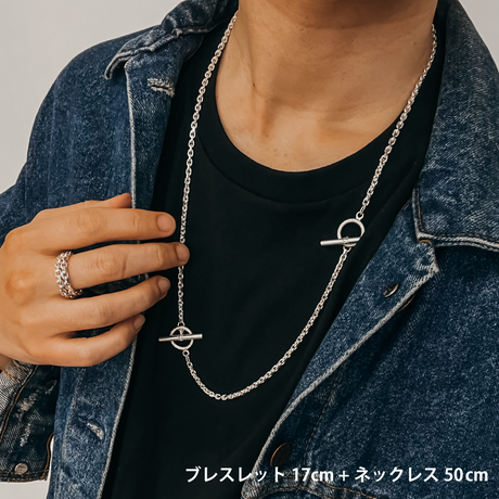 Anker Narrow Chain Necklace / 細
