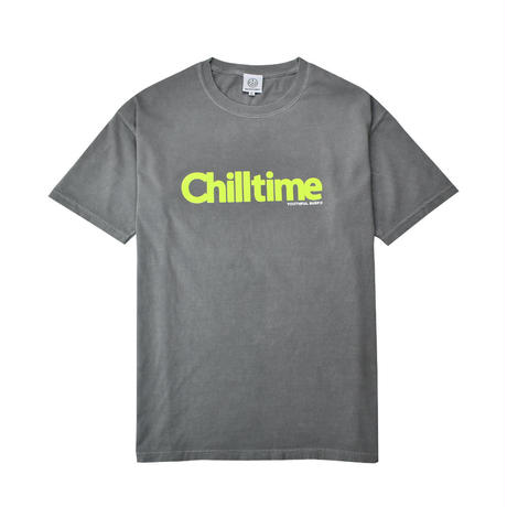 Chill time pigment dyed Tee / Gray