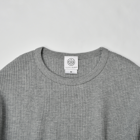 Thermal long sleeve Tee / Gray