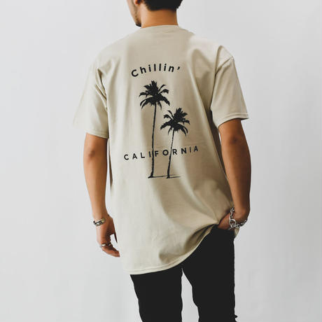 Chillin' california  Tee / Sand