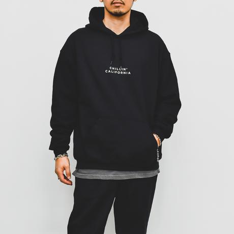 Chillin' california  Hooded Sweatshirt / Black