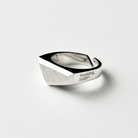 Silver Keystone Ring