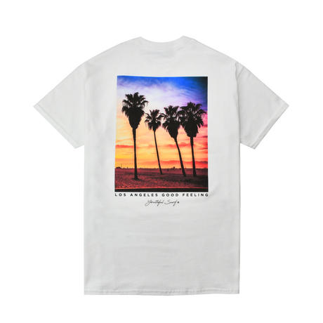 Los Angeles photo graphic Tee / White