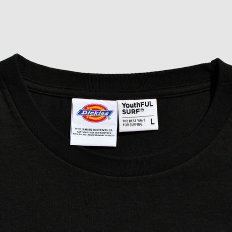 Dickies®×YouthFUL SURF® Premium Relax Fit Tee / Black