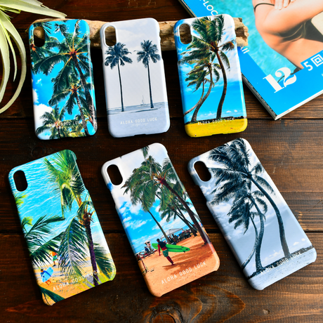 【iPhoneXR/XS/X/8/7】Palm tree iPhone case