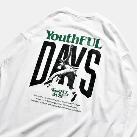 【予約商品】YouthFUL DAYS Relax Fit Long Sleeve Tee