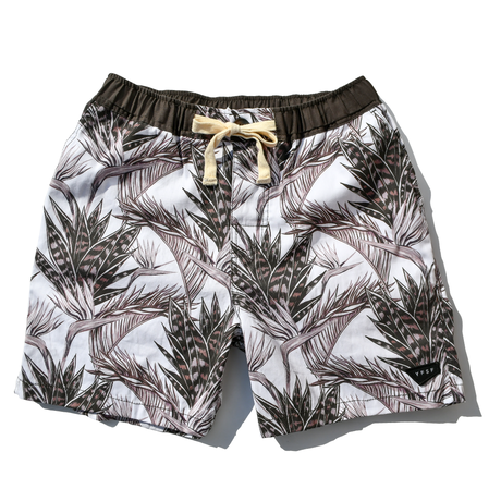 YFSF  Original  Board Shorts【Floral Leaf】