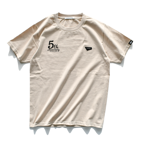5th Anniversary Limited Tee【Sand】