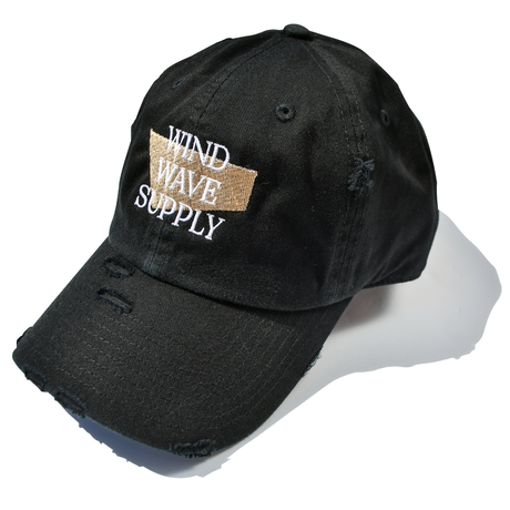 WIND WAVE SUPPLY Damage Cap【Black】