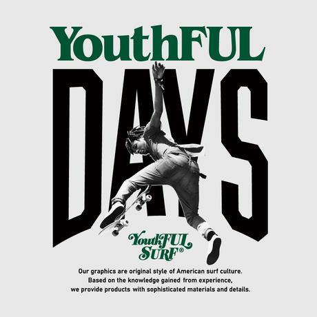 【予約商品】YouthFUL DAYS Relax Fit Crew Neck Sweatshirt