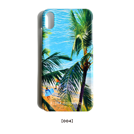 【iPhoneXS Max/8 Plus/7 Plus】Palm tree iPhone case