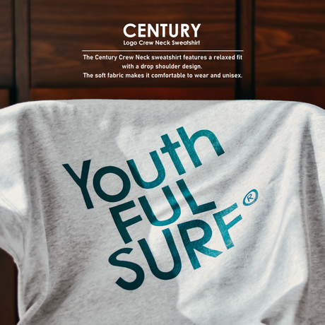 Century Logo Crew Neck Sweatshirt