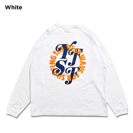【予約商品】Circle YFSF Logo Relax Fit Long Sleeve Tee