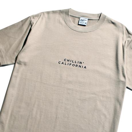 Chillin' california Organic cotton Tee / Greige