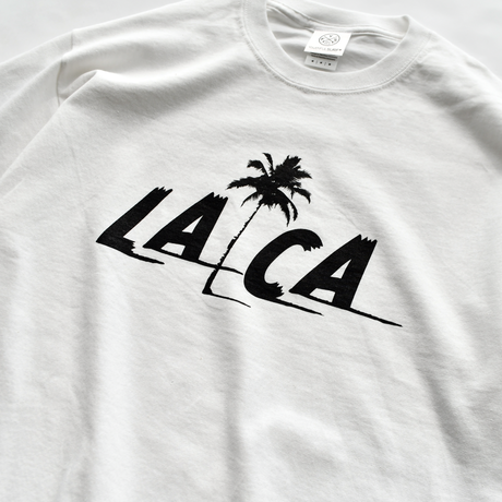 LA.CA sunset  Tee  【White】