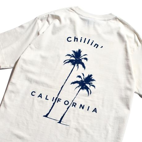 Chillin' california Organic cotton Tee / White