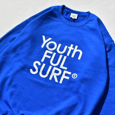 Century Logo Crew Neck Sweatshirt  / Royal Blue