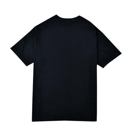 Chill time pigment dyed Tee / Black