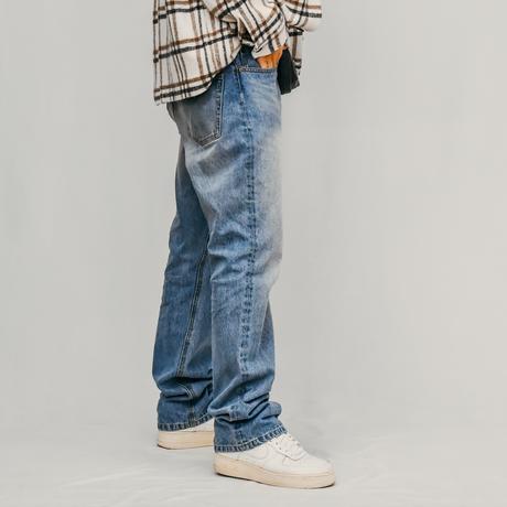 THE 90's STRAIGHT DENIM PANTS / LIGHT STONEWASH