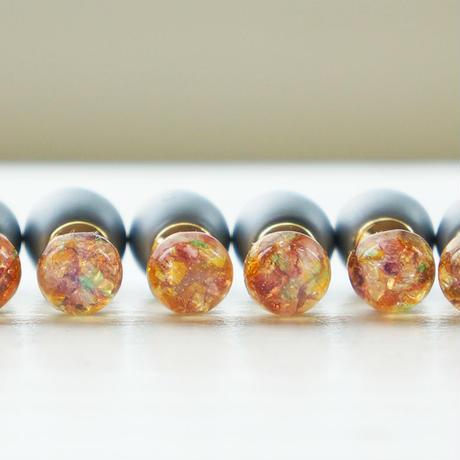 vintage glass opal pierce