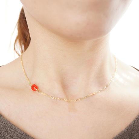 Lip necklace