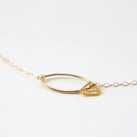 K14gf merquise necklace