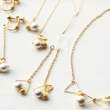 petit▽▽▽triangle necklace