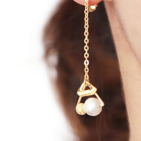 petit△triangle earring