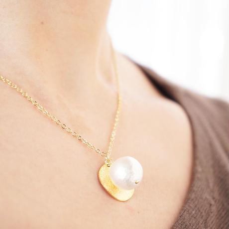 ダイヤモンドダスト round necklace