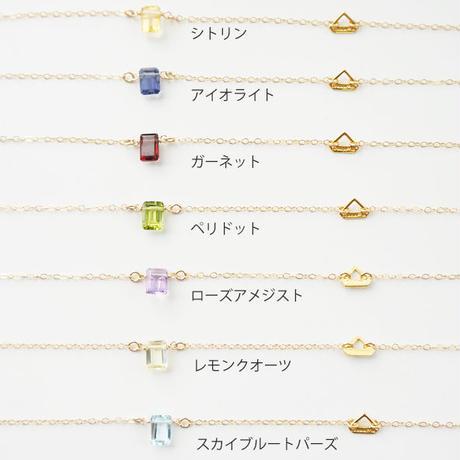 K14gf candy color necklace