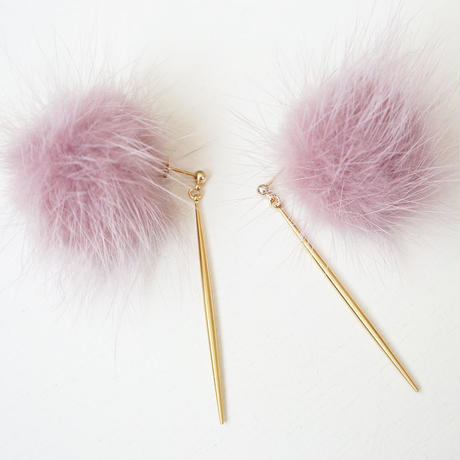 furball×stickbar pierce smokypink