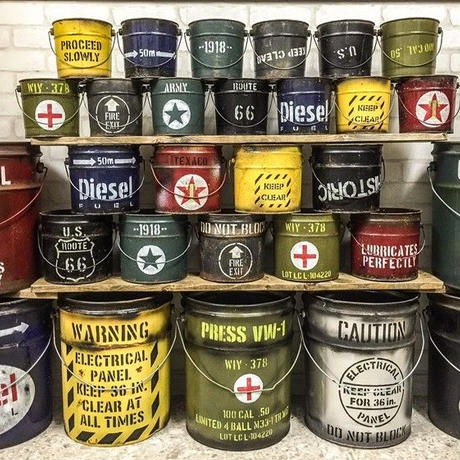 アメリ缶ペールMサイズ(ポスカ付き)