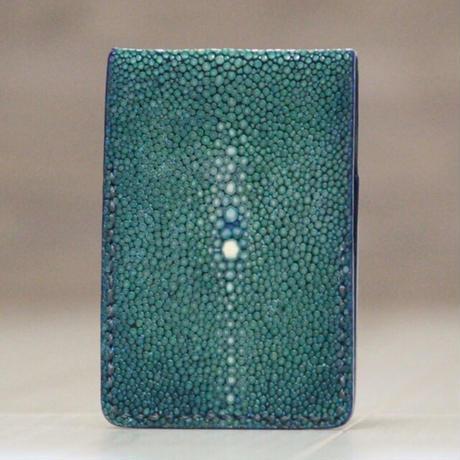 孔雀色×深海色《カードケース:ヴァルキューレ》※一点物