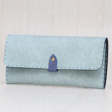 ライトブルー《長財布:オリエンタル》